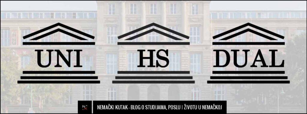 Vrste fakulteta i visokog obrazovanja