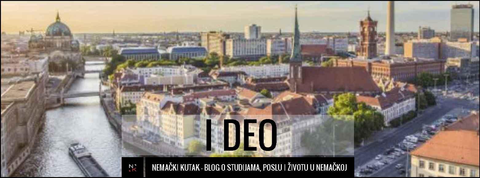 Karta Nemacke Berlin.Vodic Kroz Berlin Znamenitosti I Deo