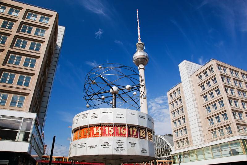 TV toranj i svetski časovnik Berlin