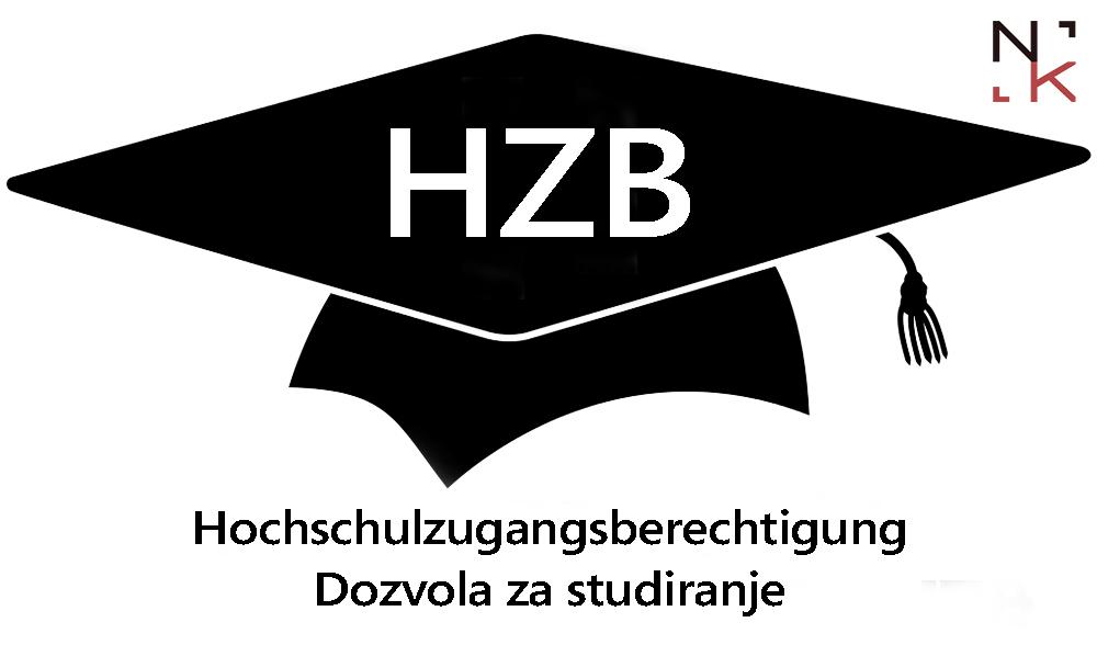 Dozvola za studiranje – Hochschulzugangsberechtigung