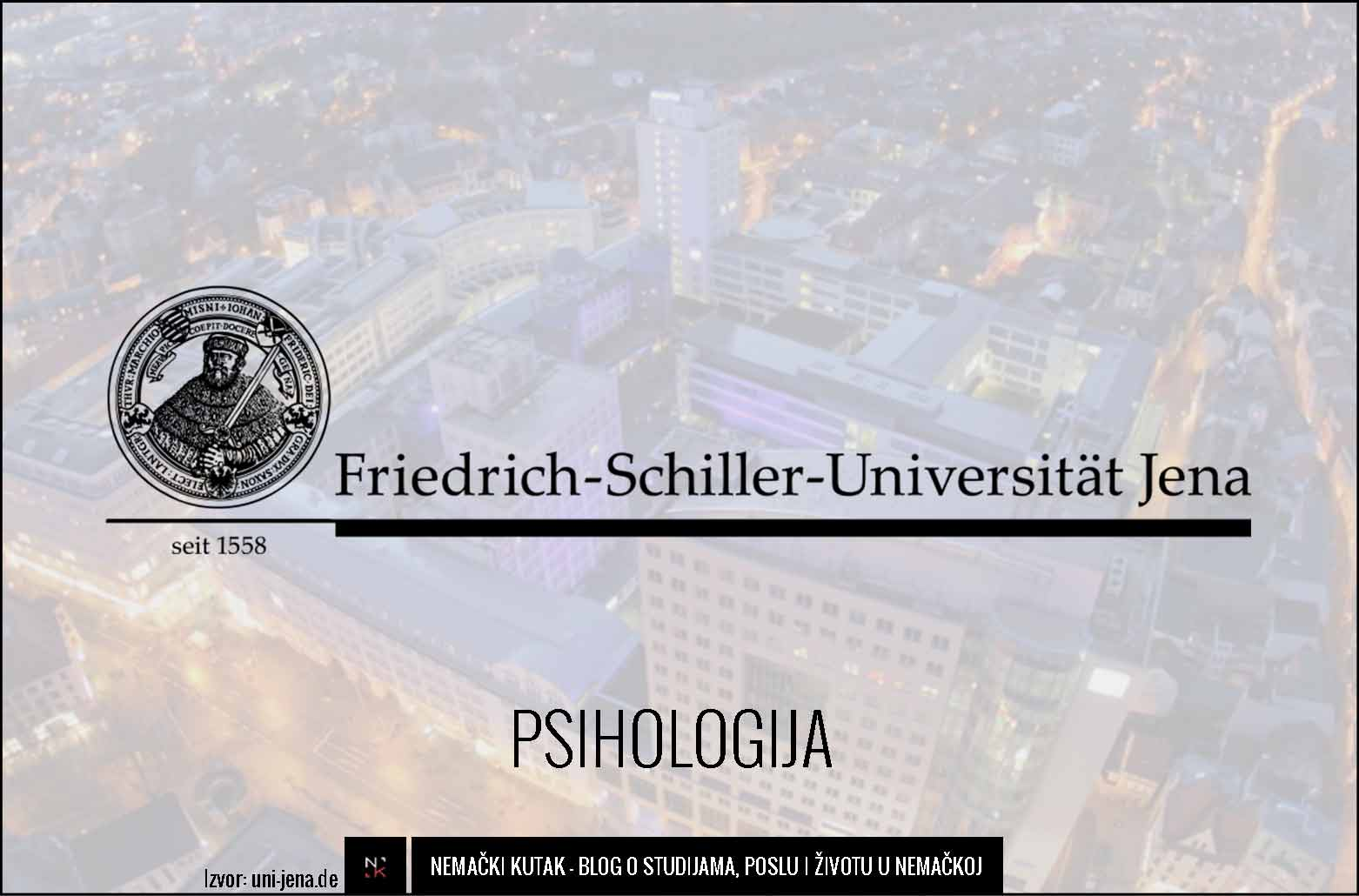 Psychologiestudium Master Jena