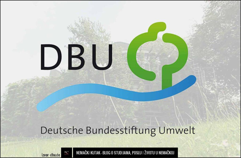 DBU - Nemačka savezna fondacija za životnu sredinu.