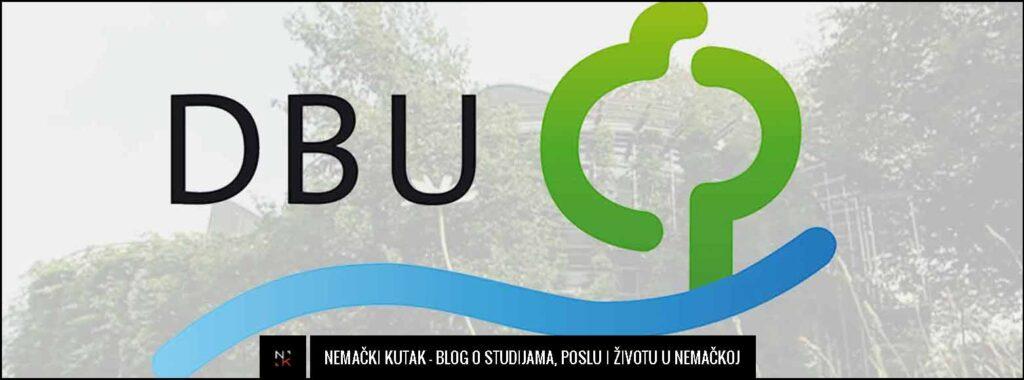 Stipendija za MOE program od Nemačke savezene fondacije za zaštitu životne sredine – DBU Stipendium