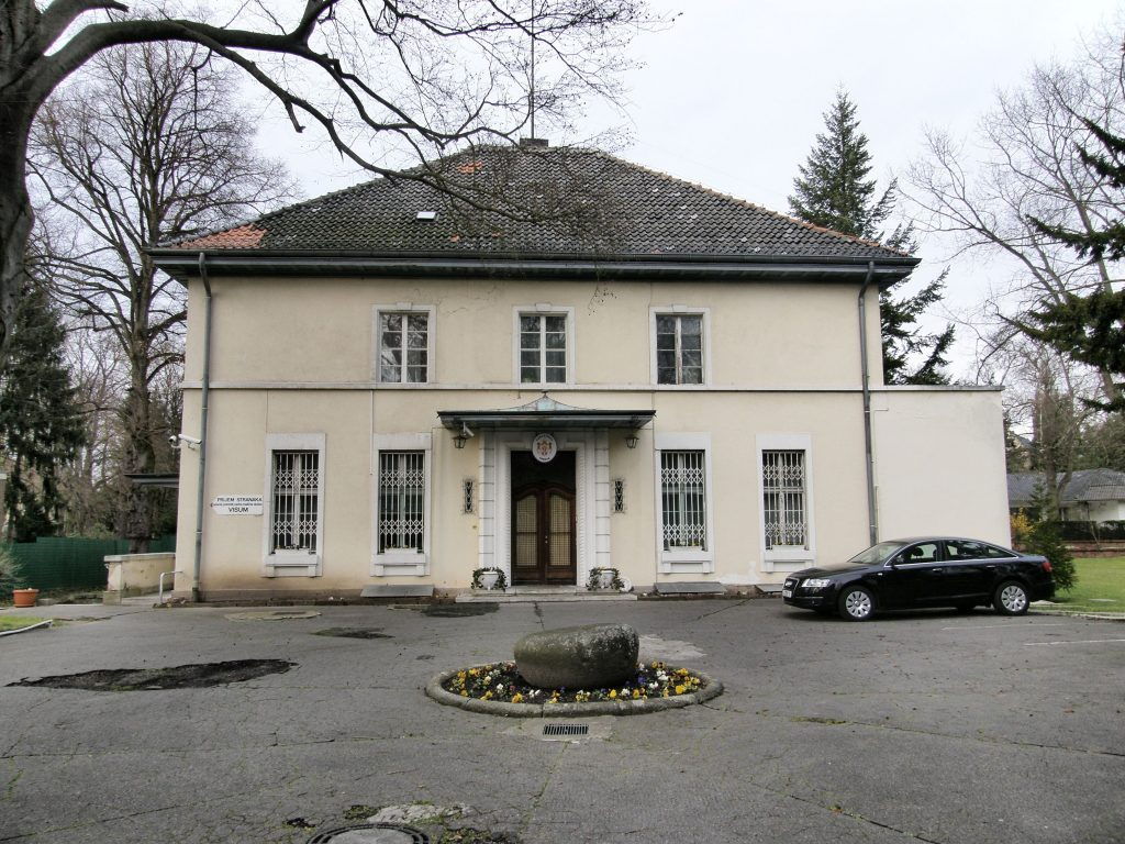 Srpska ambasada u Berlinu. Izvor: wikipedia.de
