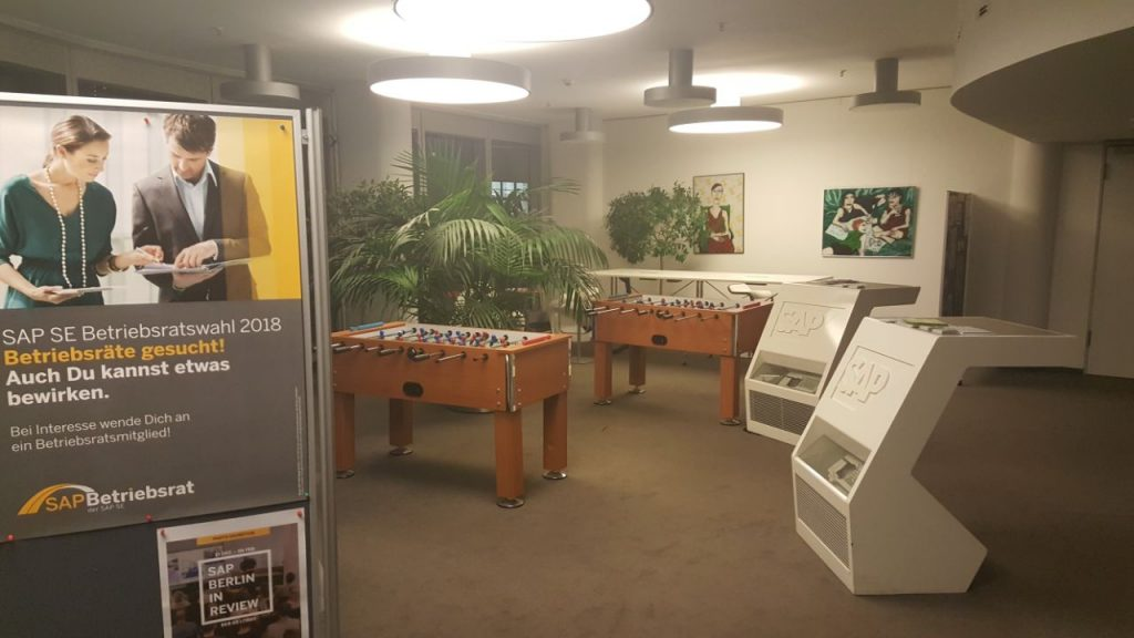 Coffee Corner u SAP-u u Berlinu