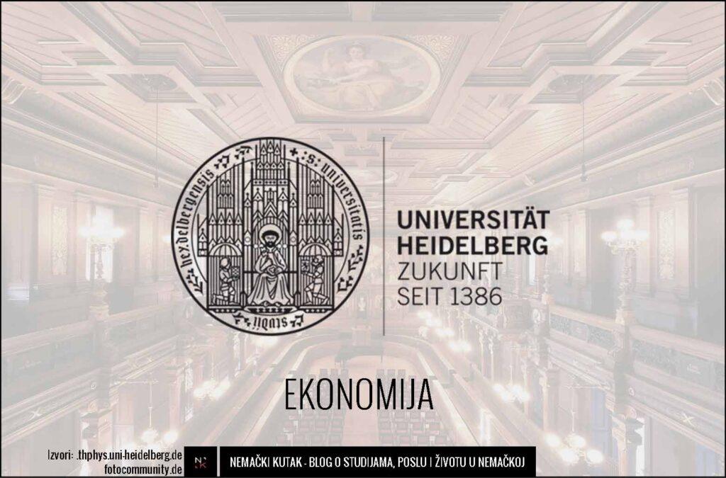 univerzitet hajdelberg ekonomija nemacka