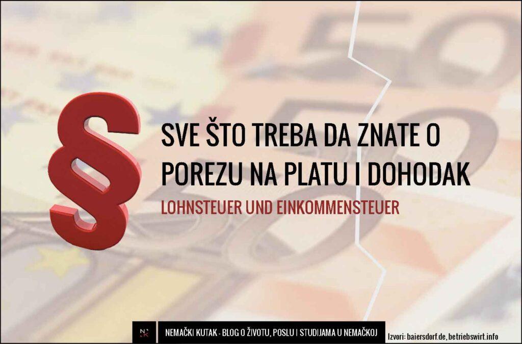 porez nemacka lohnsteuer einkommensteuer