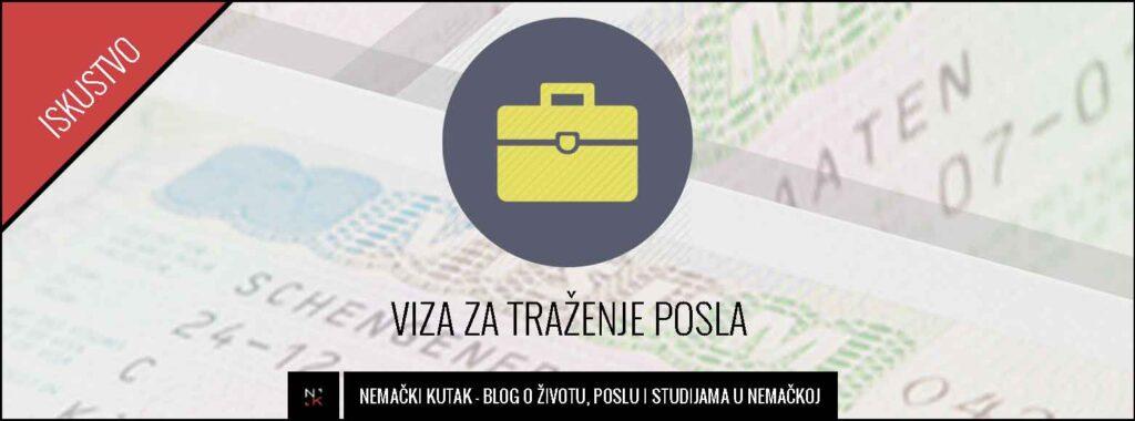 Iz Beograda do Nemačke preko vize za traženje posla