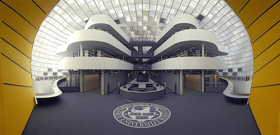 Ulaz u filološku čitaonicu i biblioteku na FU Berlin