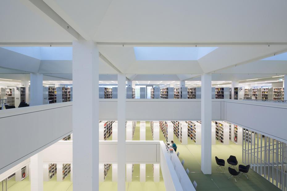 Jedna od biblioteka i čitaonica na FU Berlin
