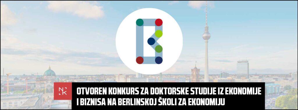 Otvoren konkurs za doktorske studije iz ekonomije i biznisa na Berlinskoj školi za ekonomiju