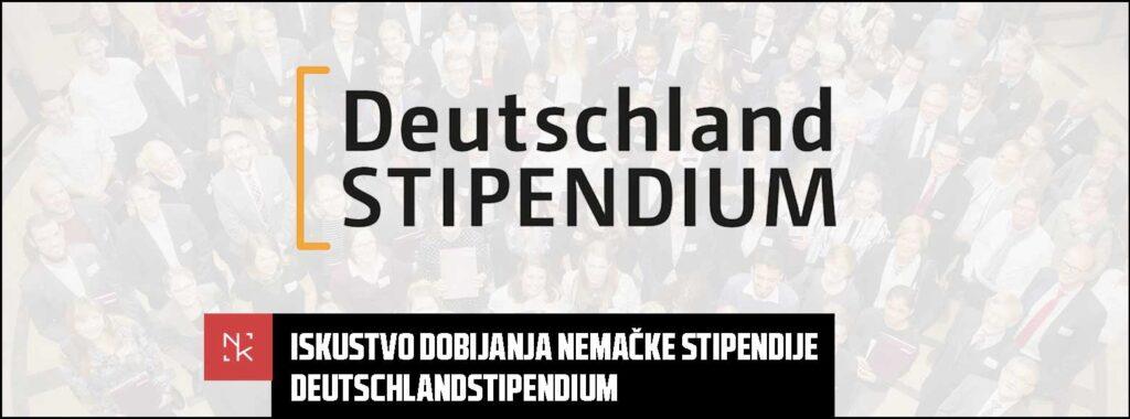 Iskustvo dobijanja nemačke stipendije – Deutschlandstipendium