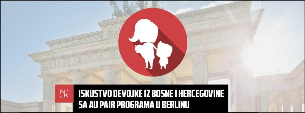 Iskustvo devojke iz Bosne i Hercegovine sa Au Pair programa u Berlinu