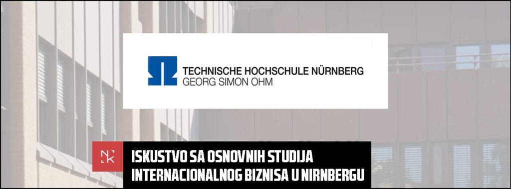 Iskustvo sa osnovnih studija internacionalnog biznisa u Nirnbergu