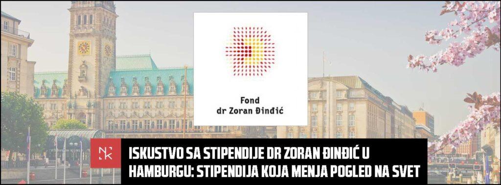 Iskustvo sa stipendije Dr Zoran Đinđić u Hamburgu – Stipendija koja menja pogled na svet