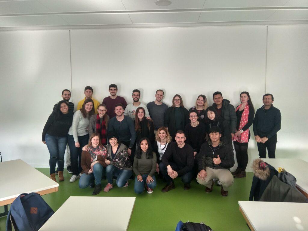 Učesnici kursa Nemačkog jezika nivo