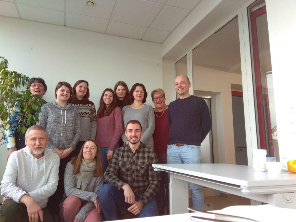 Kolege sa Univerziteta u Trier-u, (Januar 2019). Izvor: lična arhiva autora