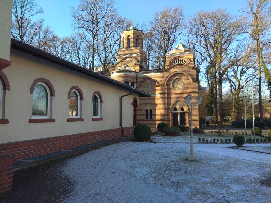 Srpska pravoslavna crkva u Osnabriku, februar 2018